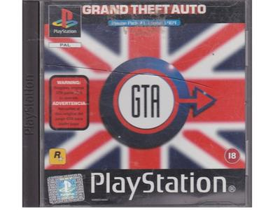 Grand Theft Auto : Mission Pack 1 London 1969 (PS1)