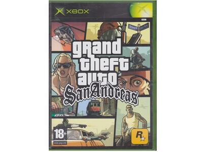 Grand Theft Auto : San Andreas (Xbox)