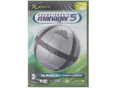 Championship Manager 5 (forseglet) (Xbox)