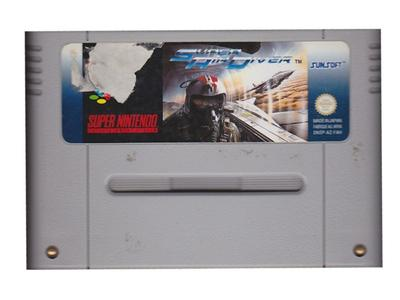 Super Air Diver (dårlig label) (SNES)
