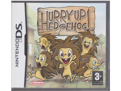 Hurry Up Hedgehog u. manual (Nintendo DS)