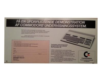 Commodore Reklame 6