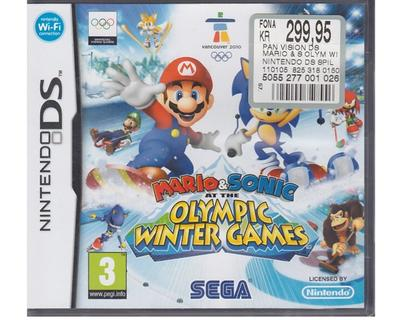 Mario & Sonic at the Olympic Winter Games u. manual