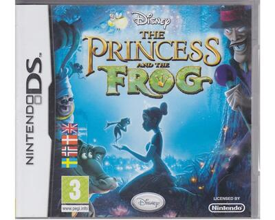 Princess and the Frog (dansk) (Nintendo DS)