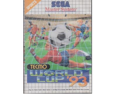 Tecmo World Cup '93 m. kasse og manual (SMS)
