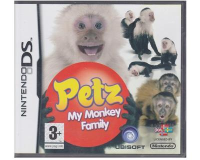 Petz : My Monkey Family (dansk) (Nintendo DS)