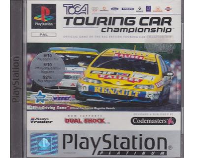 Toca Touring Car Champship u. manual (platinum) (PS1)