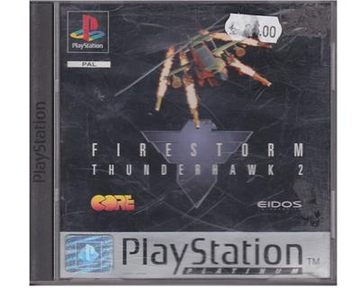 Firestorm : Thunderhawk 2 (platinum) (PS1)