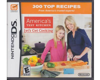 America's Test Kitchen : Lets Get Cooking (Nintendo DS)