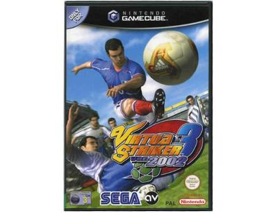 Virtua Striker 3 ver 2002 (fransk kasse og manual) (GameCube)