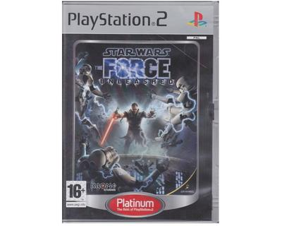 Star Wars : The Force Unleashed (platinum) (PS2)