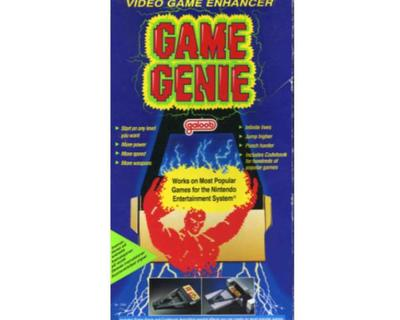 Game Genie m. kasse (slidt) og manual (slidt)