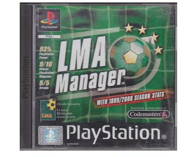 LMA Manager with 1999/2000 Season Stats