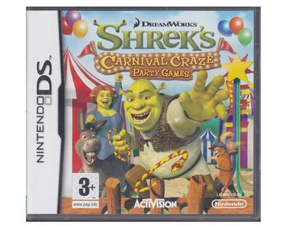 Shrek's Carnival Crazy Party Games (Nintendo DS)