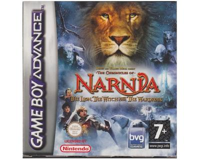 Narnia : The Lion, The Witch and The Wardrobe m. kasse og manual (forseglet)