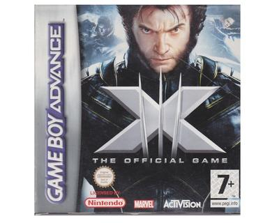 X-men : The Official Game m. kasse og manual