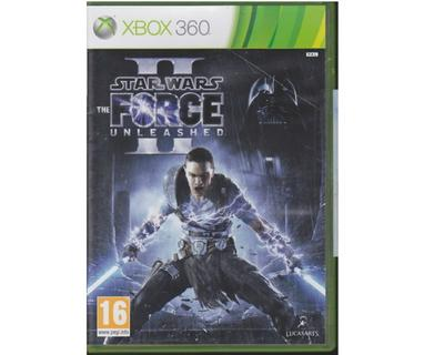 Star Wars : The Force Unleashed II (Xbox 360)