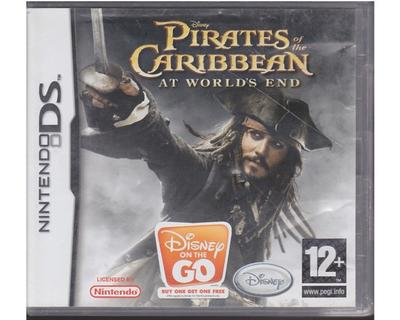 Pirates of the Caribbiean : At Worlds End (forseglet) (Nintendo DS)