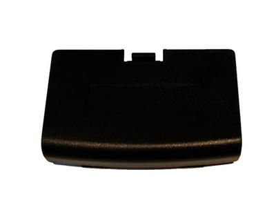 Game Boy Advance Batteri Cover (sort) (Ny vare) (uorig)