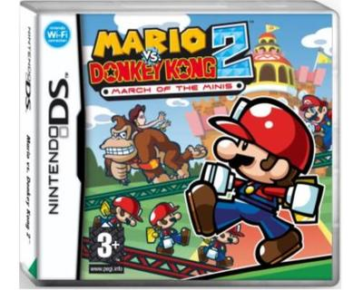 Mario vs Donkey Kong 2 March of the Minis (Nintendo DS)