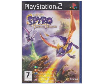 Spyro : Dawn of the Dragon (dansk) (PS2)