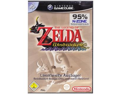 Zelda : The Wind Waker m. bonus Disk (fransk cover og manual) (GameCube)