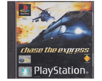 Chase the Express u. manual (PS1)