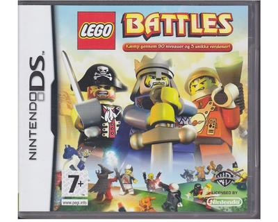 Lego Battles (dansk) u. manual