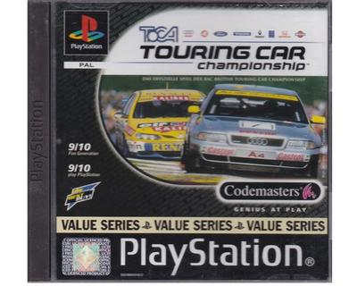 Toca Touring Car Champship (value series) (kasse og manual er tysk) (PS1)