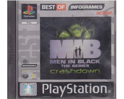 MIB The Series : Crashdown (Best Of) u. manual (tysk) (PS1)
