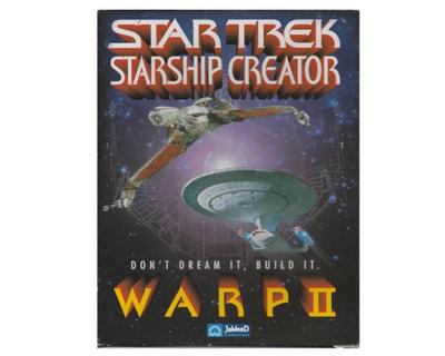 Star Trek : Starship Creator Warp II m. kasse og manual (CD-Rom)