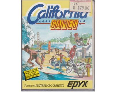 California Game (bånd) m. kasse og manual (Amstrad)