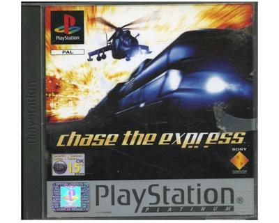 Chase the Express (platinum) u. manual (PS1)