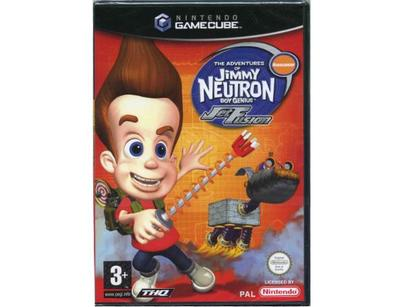 Jimmy Neutron : Jet Fusion u. manual (GameCube)