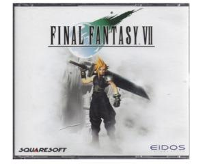 Final Fantasy VII u. manual
