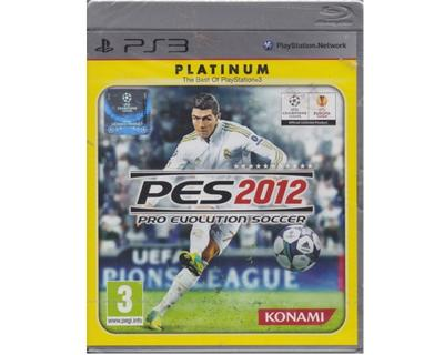 Pro Evolution Soccer 2012 (platinum) (forseglet) (PS3)