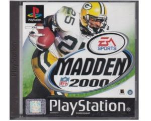 Madden 2000 u. manual (PS1)