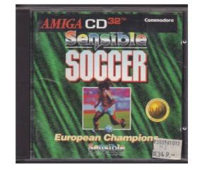 Sensible Soccer : European Championship (CD32) i CD kasse med manual