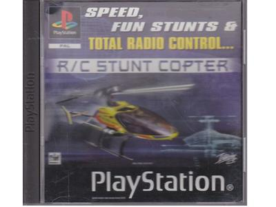 R/C Stunt Copter (PS1)