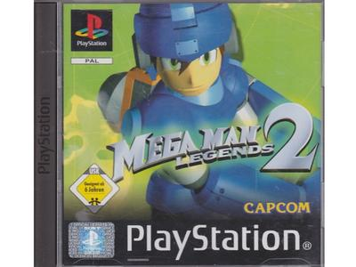 Mega Man Legends 2 (tysk kasse og manual) (PS1)