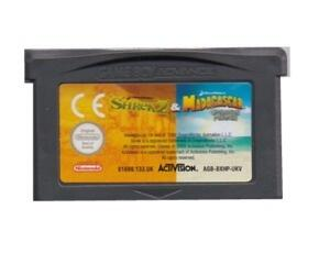 Shrek 2 & Madagascar : Operation Penguin (GBA)