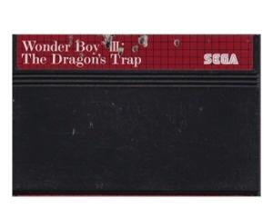 Wonder Boy III : The Dragon's Trap (dårlig label) (SMS)
