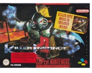 Killer Instinct (gps) m. kasse og manual (SNES)