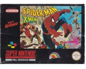 Spiderman Xmen (scn) m. kasse og manual