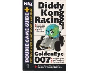 Diddy Kong Racing / Golden Eye 007 (Spilguide til N64)