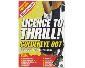 Licence to Thrill! Golden Eye 007 (Spilguide til N64)