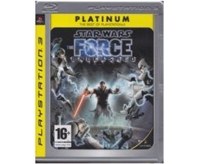Star Wars : The Force Unleashed (platinum)