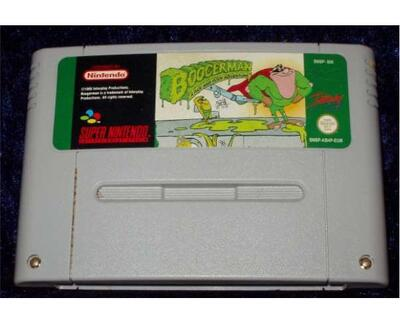 Boogerman a Pick and Flick Adventure (SNES)