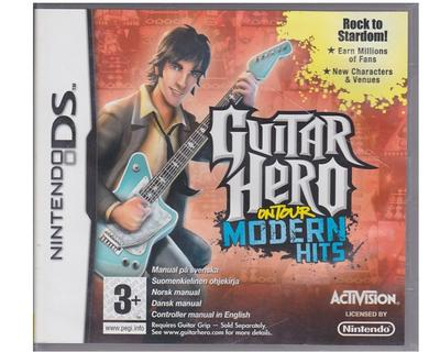 Guitar Hero : On Tour Modern Hits u. controller (forseglet) (Nintendo DS)