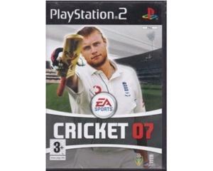 Cricket 07 u. manual (PS2)
